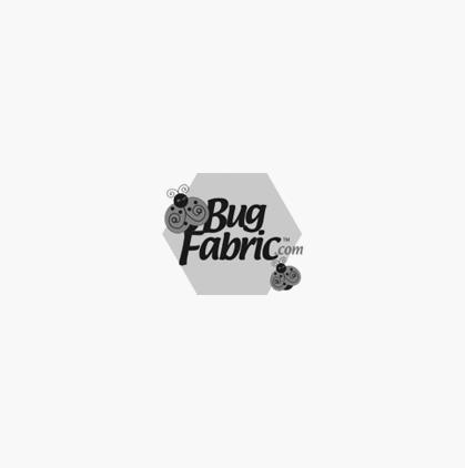 Island Batik: Swirl Circles Black / Orange - Island Batik 121401244